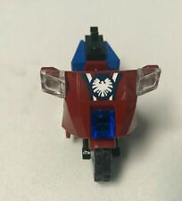 Lego Captain America Dark Red Motorcycle 6865 Fast Shipping