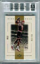 Michael Jordan 2000-2001 Upper Deck Ultimate Collection 12/750 BGS 8.5 NM-MT+ SP