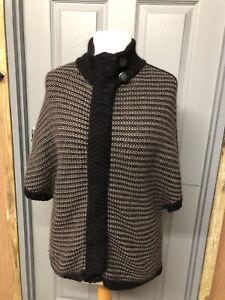 Ladies Jasper Conran Size 16 Short Sleeve Cardigan Chunky