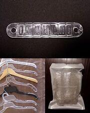 """50 Large 4"""" [10cm] Non-Slip Retail Clothes Shirt Hanger Grip Strips Attachments"""