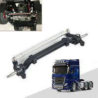 For TAMIYA 1/14 RC Tractor Truck Front Steering Axle Wheel Aluminum Alloy Parts