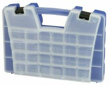 Plastic Portable Hardware Craft Parts Organizer Large Blue 06118 AKRO MILS CASE