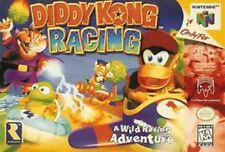 Diddy Kong Racing Nintendo 64 N64 Authentic Video Game Cart Kids Retro Super Fun