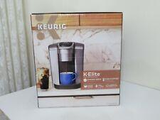 KEURIG K-ELITE COFFEE MAKER BREWER BRUSHED SILVER NEW FREE SHIPPING