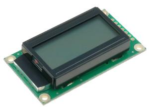 RC0802A-GHW-ESV Écran D'Affichage LCD ; Alphanumérique; Stn Positif;8x2; Gris ;