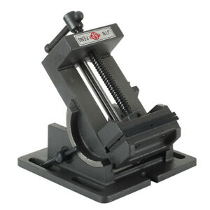 """Schraubstock 1 Achse 100 mm 4"""" kippbar schwenkbar Werkstatt"""