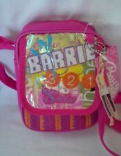 Mattel 2005 BARBIE Pink Nylon Canvas Crossbody Bag - NWT