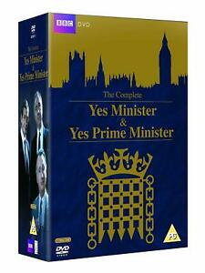 The Complete YES MINISTER & YES PRIME MINISTER DVD Boxset Region 4 New & Sealed
