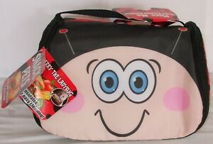 Kids Lady Bug Character Freezeble Lunch Box And Place Mat