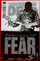 Walking Dead #100- 1st Negan, SDCC PX Variant- SIGNED Robert Kirkman VF/NM