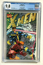X-men #1 CGC 9.8 NM/M white Special collector edition 1991 Marvel comic gatefold