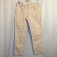"NWT Old Navy Pixie Chino Pants Women's Size 10 Regular Tan 27"" Inseam"
