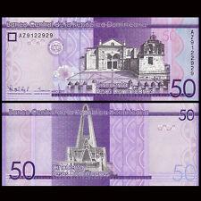 Dominican 50 Pesos, 2015, P-New 189, UNC