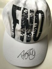 FNO Fashion Night Out cap signed by Tyson Beckford Sept 2011 NYC