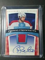 2006-07 Fleer Hot Prized Prospects Blue Guillaume Latendresse Patch Auto 10/25