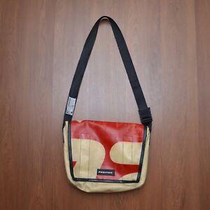 Freitag Messenger Bag Beige Red