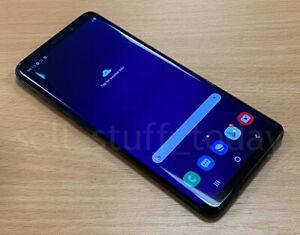 "Samsung Galaxy S9+ (SM-G965F), Black, 64GB, 6.2"" Super AMOLED, good -848"