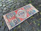 Doormats, Handmade vintage rug, Wool rug, Turkish rug, Carpet | 1,3 x 3,0 ft