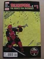Deadpool & The Mercs For Money #1 Marvel Comics 2016 Series 9.6 Near Mint+
