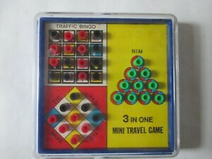 Collectable 3 in one Mini Travel Game Pre-Owned.