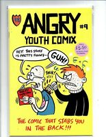 Angry Youth Comix #9 - Fantagraphics - Near Mint