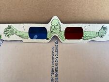 Vintage Creature From The Black Lagoon 3D Glasses 1980 Monster Movie Souvenir