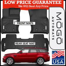 MOGO™ by Husky Luxury Floor Mats fit 2013-18 Land Rover Range Rover Sport BLACK