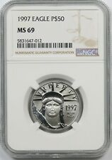 1997 Platinum Eagle $50 Half-Ounce MS 69 NGC 1/2 oz Platinum .9995