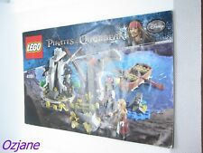 LEGO 4181 PIRATES OF THE CARIBBEAN INSTRUCTION MANUAL ISLA DE MUERTA