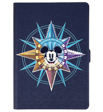 "Disney Parks 7"" Tablet Cover Case Stand Mickey Mouse Discover the Magic Passport"