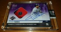 2019 Topps Now #1006C Gleyber Torres Auto Relic SN 9/25 autograph IN HAND!