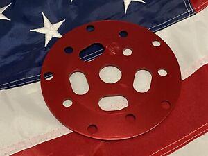 RARE RED NOS OG BMX TUF NECK POWER DISC FITS HUTCH GT PROFILE REDLINE MINT