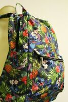 Disney Lilo and Stitch Hawaiian Tropical Pineapple Book School Backpack Bag
