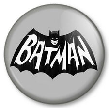 "Batman Retro (2) 25mm 1"" Pin Button Badge Superhero DC Comics Bruce Wayne Gotham"
