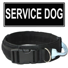 2 Inch Tactical Military Hunting Training Dog Collar Nylon with handle Unisex