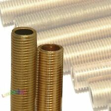 1 Stück Gewinderohr rein Messing M10x1 M10x1x85 Länge = 85mm Röhrchen