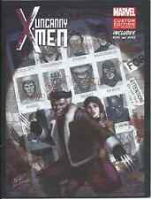 UNCANNY X-MEN DAYS OF FUTURE PAST DVD MINI COMIC GIVEAWAY PROMO REPRINTS 141 142