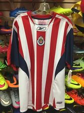 rare reebok chivas rayadas de guadalajara Mexico Libertadores Jersey us L