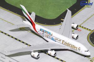 "Gemini Jets 1:400 Scale Emirates Airbus A380 ""Real Madrid"" A6-EUG GJUAE1762"