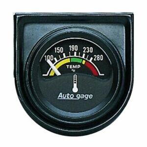 Auto meter For 1-1/2 Water Temperature 100-280 r-Core Short Sweep Auto Gage 2355