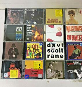 MILES DAVIS - Jazz - Lot of 16 CDs - BeBop Post-Bop