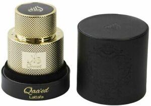 Qaa'ed by Lattafa 100ml Luxury Spray Perfume Eau De Perfum for Men & Women