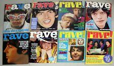 Beatles Teen Magazine Lot-Monkees Etc-Rave-1960s-ESTW