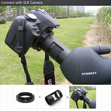 Mount&T-Ring 42mm Spotting Scope Telescope Adapter For SLR/DSLR Nikon Camera