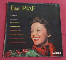 "EDITH PIAF  LP ORIG FR  25 CM 10""  N°1"