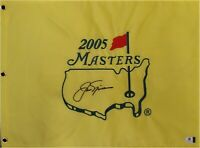 Jack Nicklaus Hand Signed Autographed 2005 Masters Championship Flag GV 819614