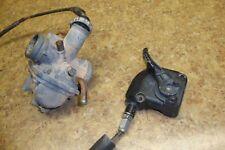 1986 Kawasaki KLF185 KLF 185 Bayou ATV Fuel Gas Intake Carburetor Throttle F13