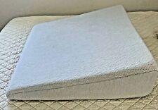 Large Wedge Memory Foam Pillow Sleeping Health Comfort Acid Reflux Prevention