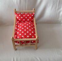 Orig IKEA Rosalie />/>/> Wende-Bettwäsche für Puppenbett oder Puppenwagen /</</<