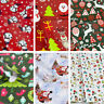 50CM Width CHRISTMAS WRAPPING PAPER PRESENT WRAP SANTA ASSORTED DESIGNS